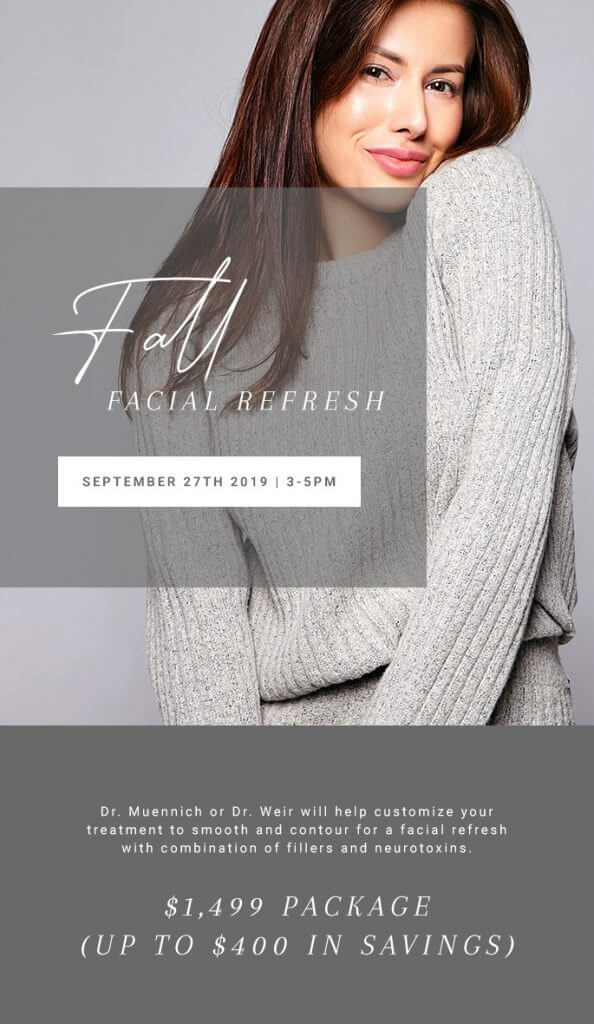 Fall Facial Refresh Event 2019